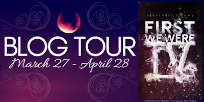 First We Were IV Blog Tour banner