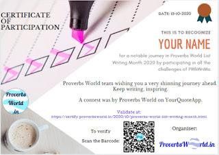 Provebs World