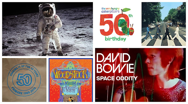 The moon landings, Abbey Road, Woodstock. Just some of the things that happened in 1969