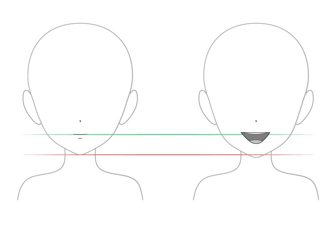 Mulut Tertutup vs Mulut Terbuka Pada Anime Dan Manga