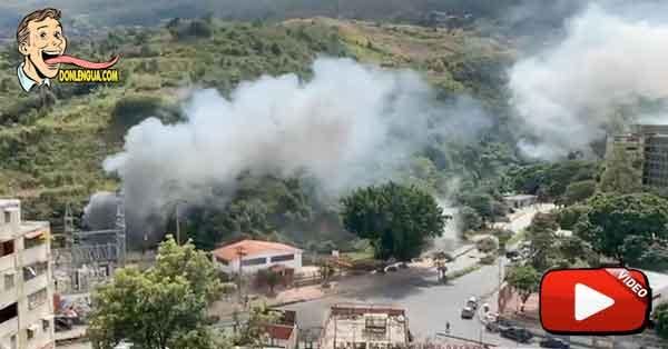 Así estalló la Planta Eléctrica de Ruiz Pineda en Caricuao