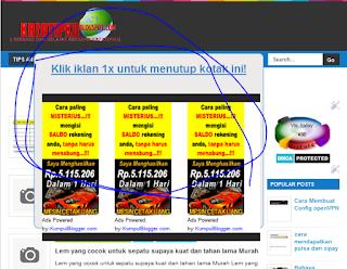 scrip iklan yang di klik hilang, Trik meningkatkan penghasilan iklan PPc menggunakan scrip klik iklan hilang