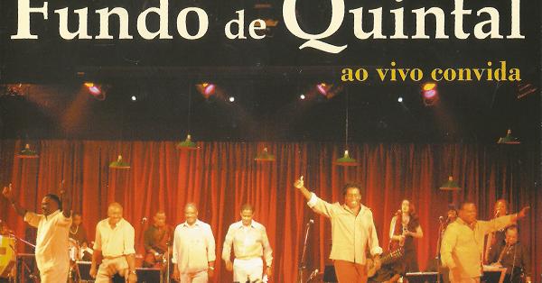 AO QUINTAL DE CONVIDA FUNDO DVD BAIXAR VIVO