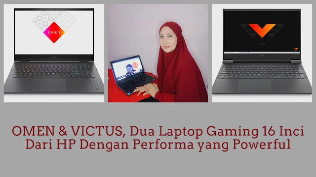 laptop gaming omen dan victus by hp