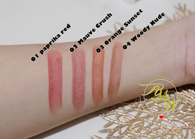 a swatch photo of K-Palette Lasting Semi-Matte Lip Tint Sticks Review by Nikki Tiu of askmewhats.com