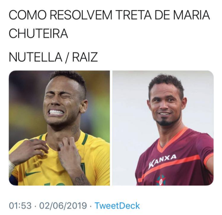 a4e910a9ad52e Como eu disse lá em cima, agentes de segurança pública estão compartilhando  esta imagem num grupo, sugerindo que Neymar deveria tratar sua