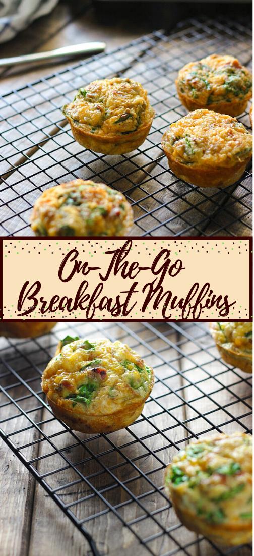 On-The-Go Breakfast Muffins #vegan #vegetarian #soup #breakfast #lunch