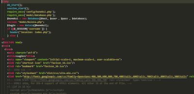 cara menghubungkan database dengan php dan mysqli