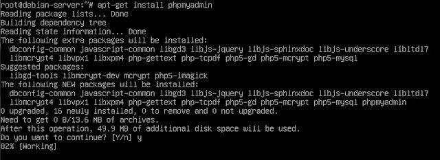 Instalasi phpMyAdmin