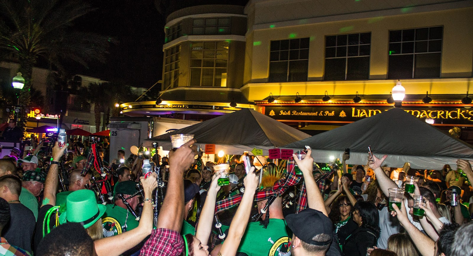 Tastes Of Orlando: St. Patrick's Day Block Party at Liam Fitzpatrick's