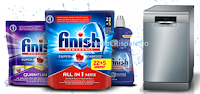 Logo Getta la spugna e vinci gratis lavastoviglie Bosh e Golden kit Finish
