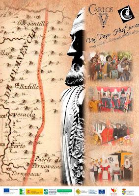 Mercado Imperial Carolus Imperator Carlos V. 8 y 9 de noviembre en Tornavacas. Otoñada 2019