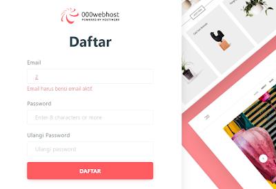 Registrasi 000webhost domain seumur hidup