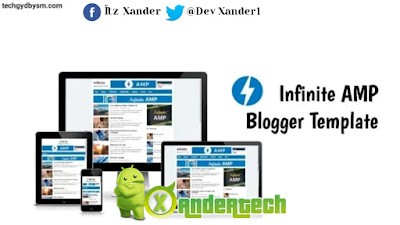 Download Infinite AMP Blogger Template 2021 [FREE Download]