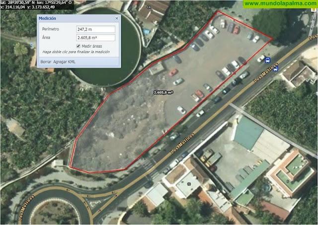 NC exige que se habilite una zona de aparcamientos en Argual