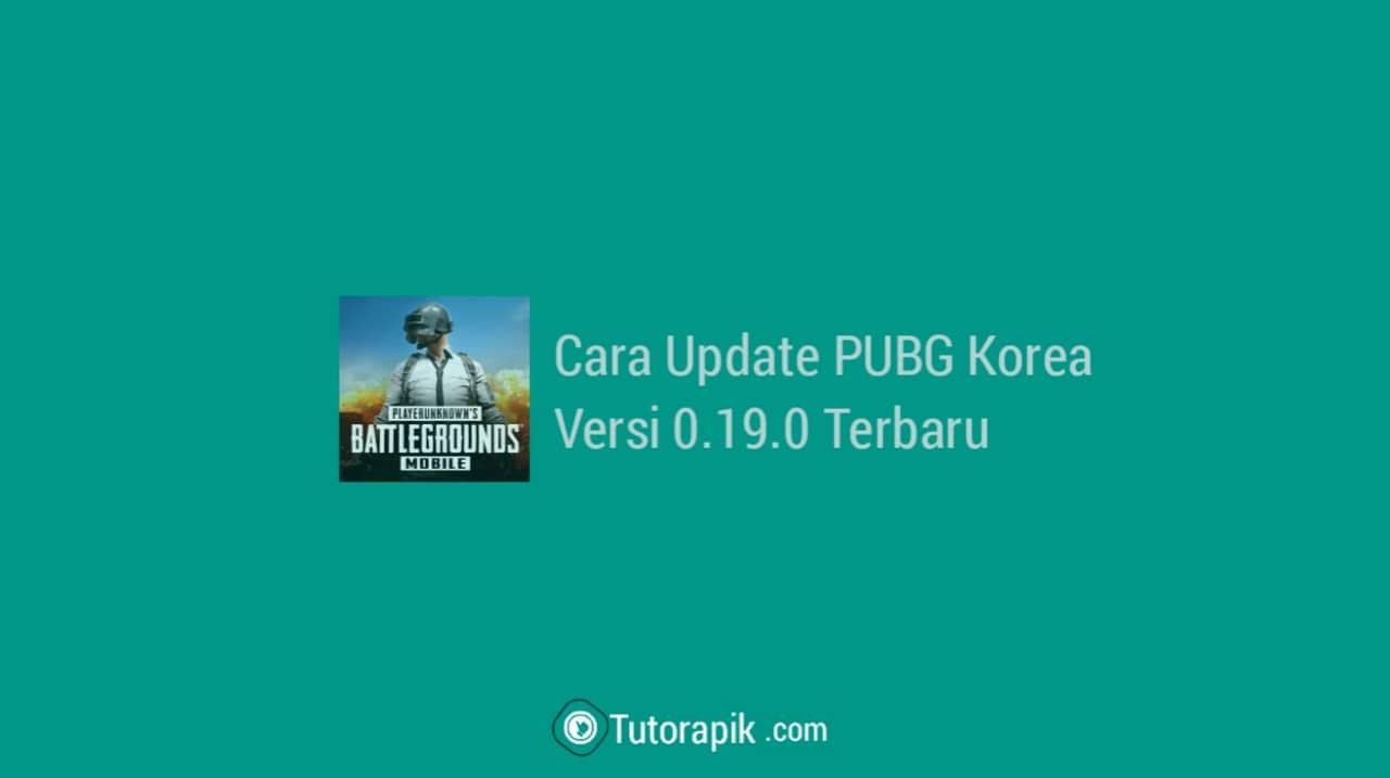 Cara Update PUBG Korea Lewat Playstore