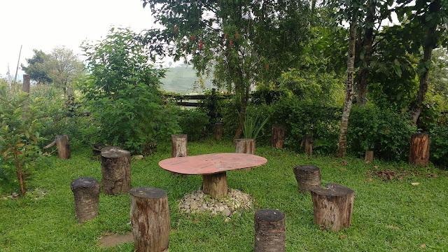 Gardens at Mount Paradise, Nagarkot Nepal