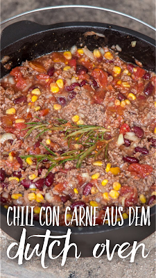 Outdoor Kitchen 04 | Chili con Carne aus dem Dutch Oven | Party-Rezept | Camping-Rezept