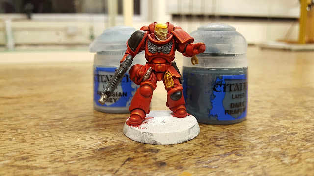 blood angel angels space marine painting guide tips red armour warhammer 40k