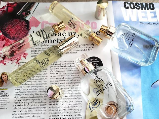 Morico- odpowiedniki znanych i lubianych perfum, za niską cenę.