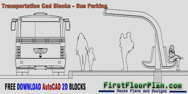 Transportation cad blocks, bus parking cad block, double decker bus cad block, bus terminal cad block, bus stop cad block, autocad bus plan block free download, autocad 2d blocks free download