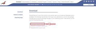 Cara Download MariaDB