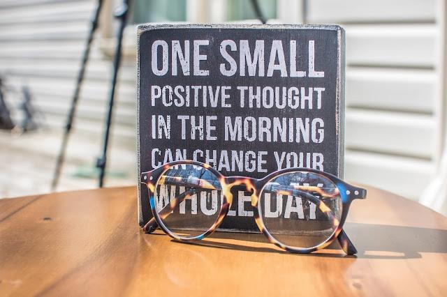 quote, kacamata, pikiran positif, kesehatan mental
