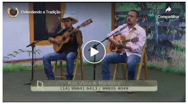 """TV AVARÉ - ESPECIAL DE MÚSICA """"Ruy Viola e Monteiro"""""""