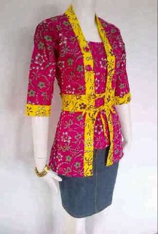 Baju Batik Wanita Batik Wanita Atasan Model Batik Wanita Batik