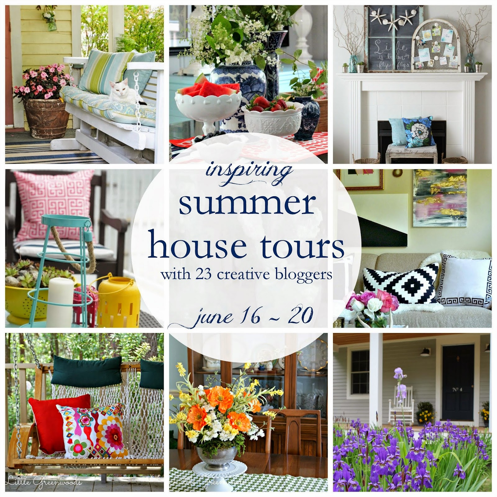 Inspiring Summer House Tour 2014