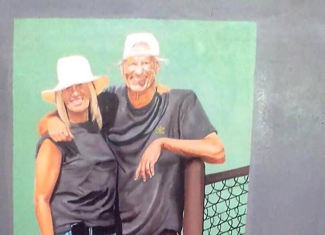 TENNIS : SHERMAN ET SUNNY, DEUX GRANDS SOUTIENS D'OYEBOG TENNIS ACADEMY