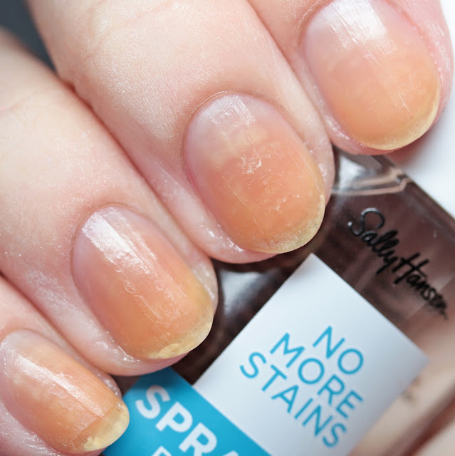 Sally Hansen No More Stains Spray-On Base Coat