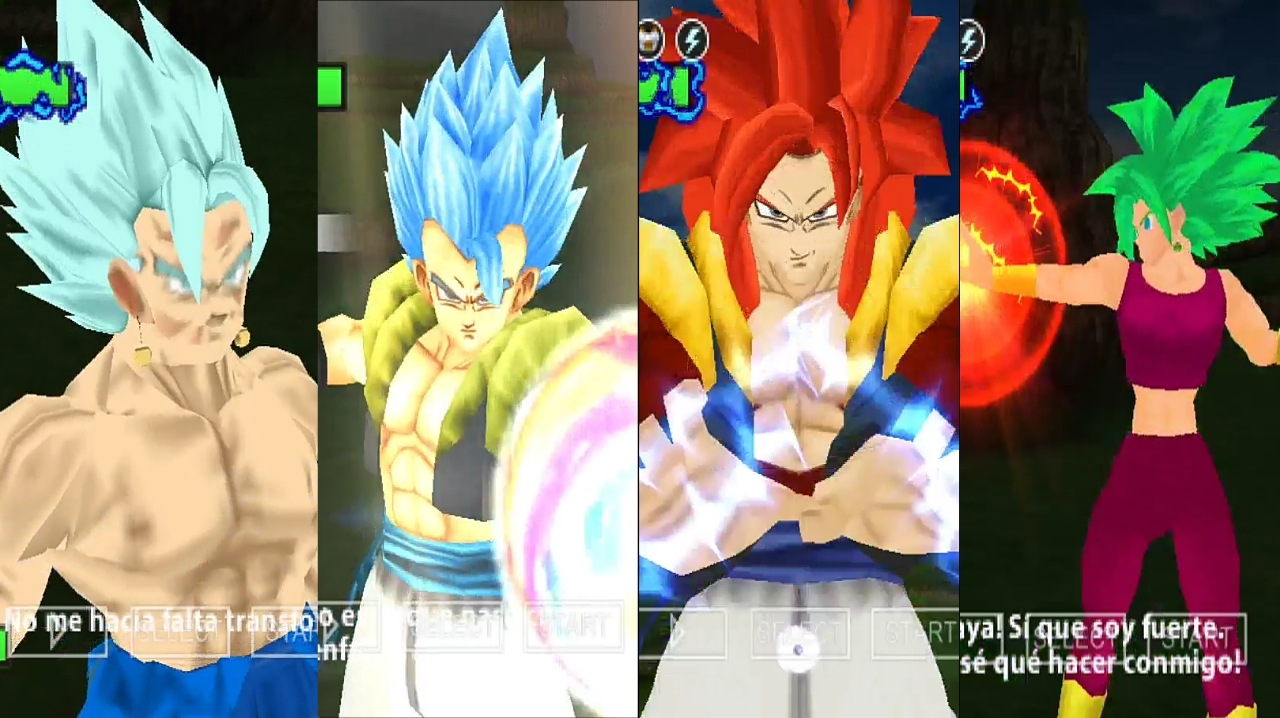 Dragon Ball Z All Fusions Characters