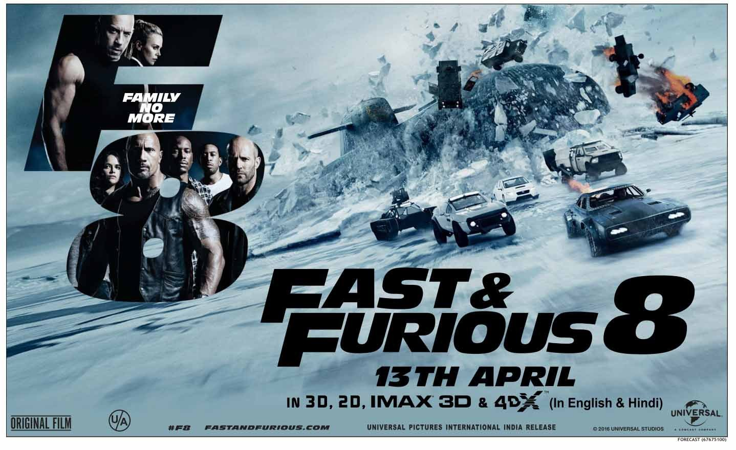 fast furious 8 movie review. Black Bedroom Furniture Sets. Home Design Ideas