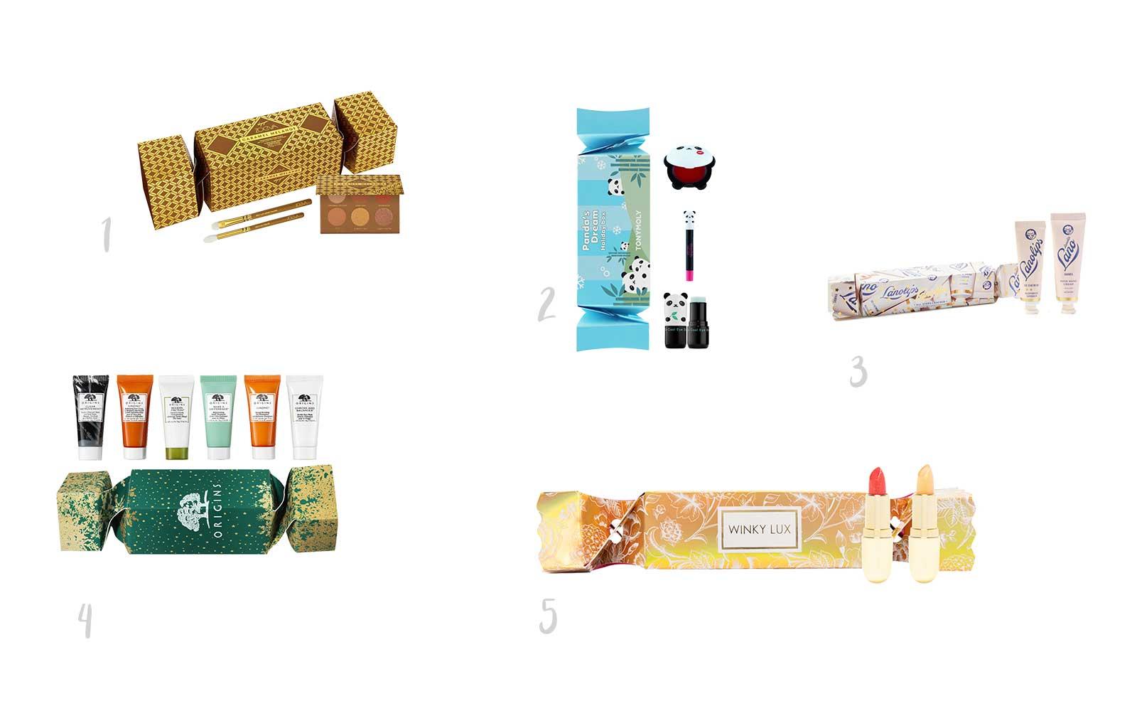 Noël idées cadeaux beauty addict crackers