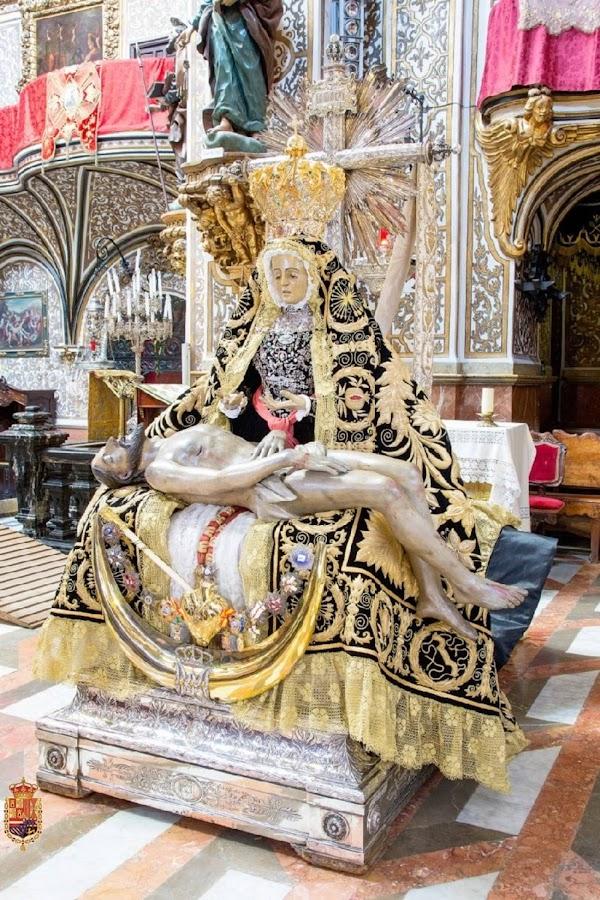 Virgen de las Angustias, patrona de Granada