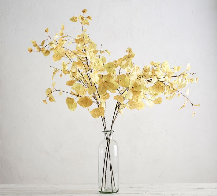 faux fall floral stems