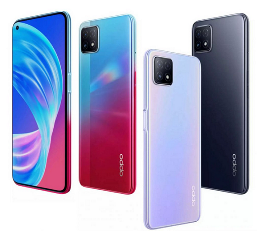 OPPO A72 5G with Dimensity 720, 8GB RAM Launched