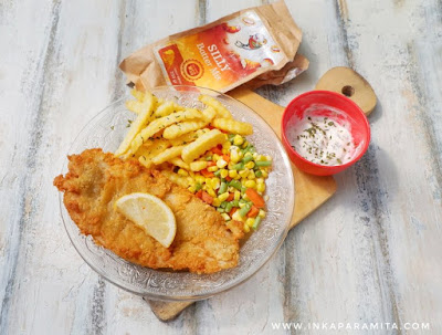 resep dori fish and chips silly battermix