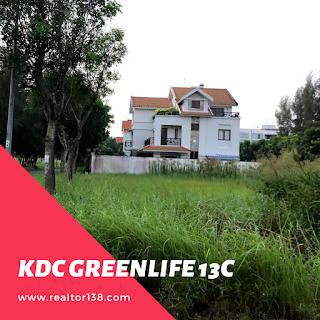 bán đất nền biệt thự kdc greenlife 13c bình chánh