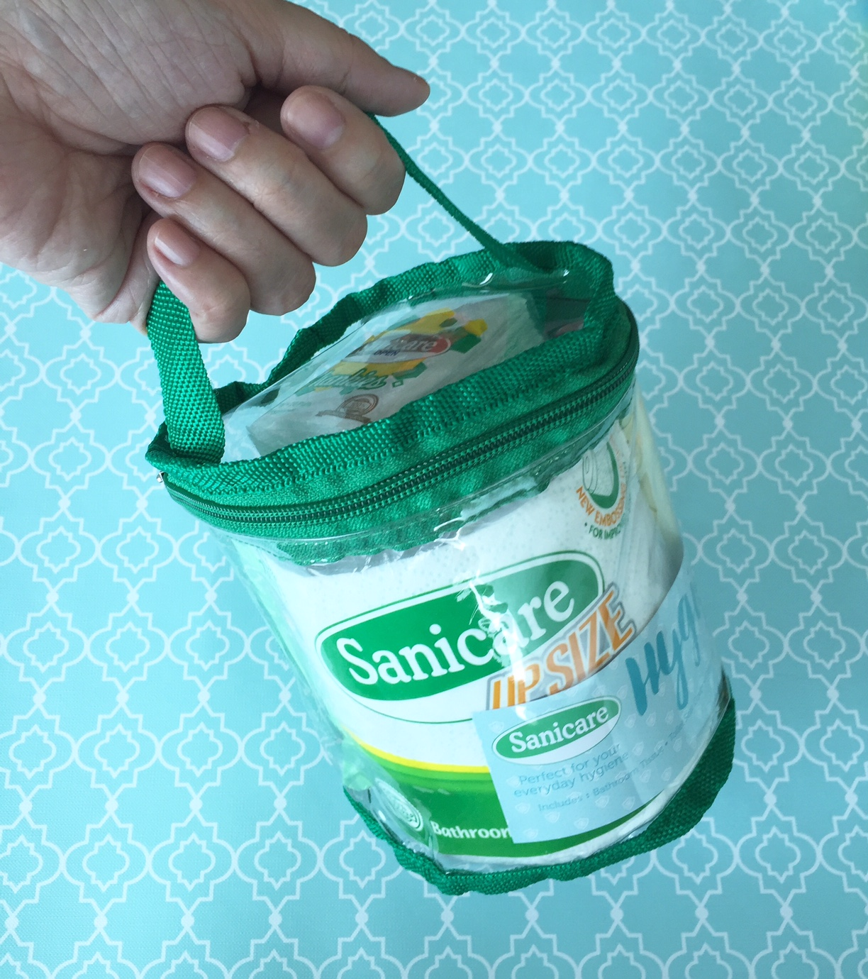 Dish Towel Synonym: Review: Sanicare Hygiene Kit