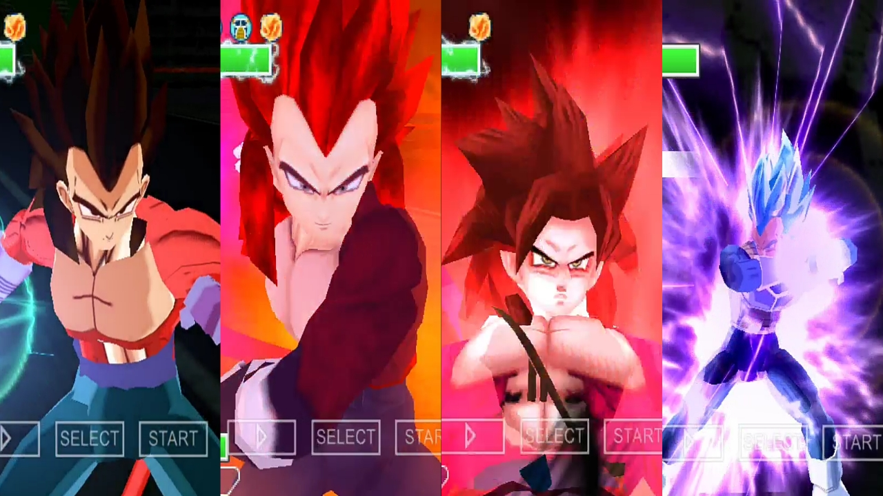 Goku And Vegeta SSJ4 Limit Breaker form
