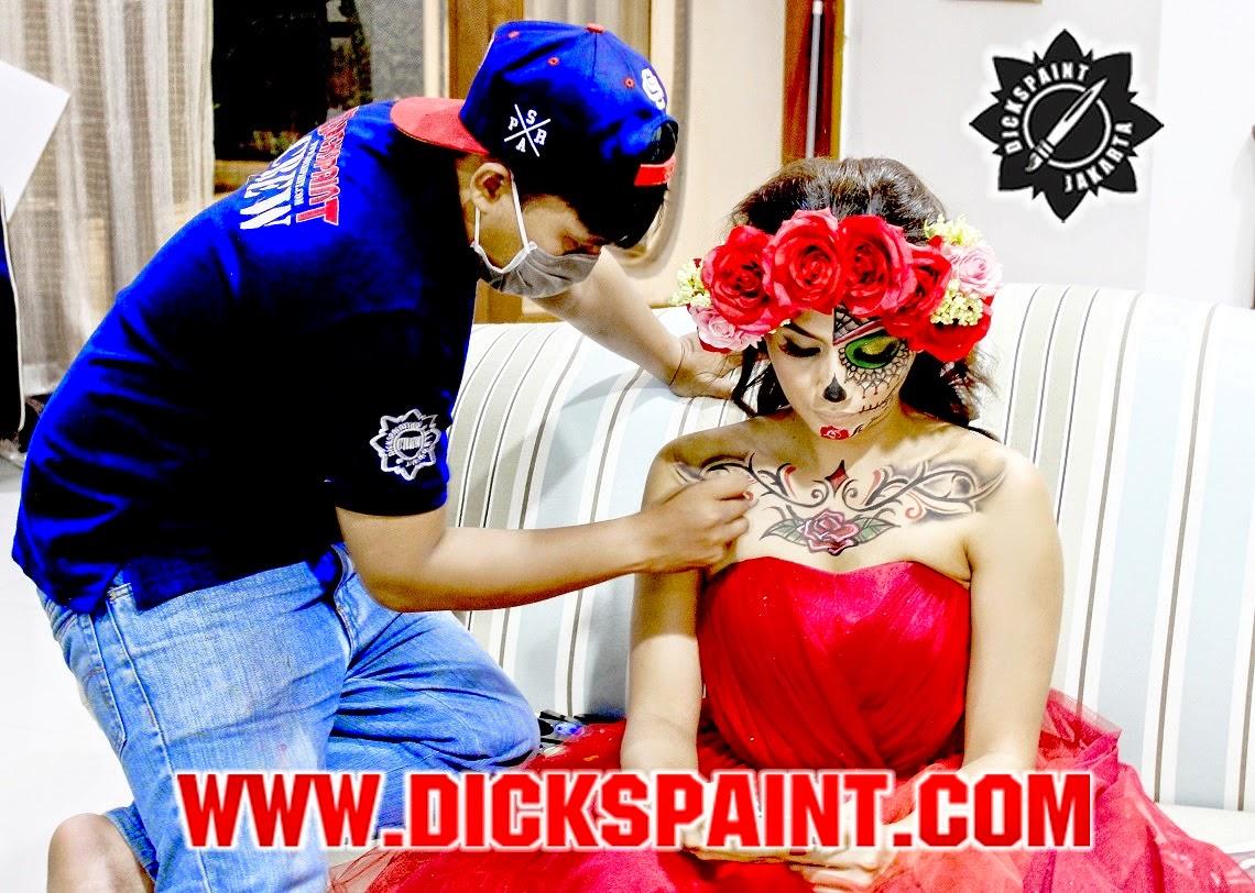 face painting jakarta sugarskull