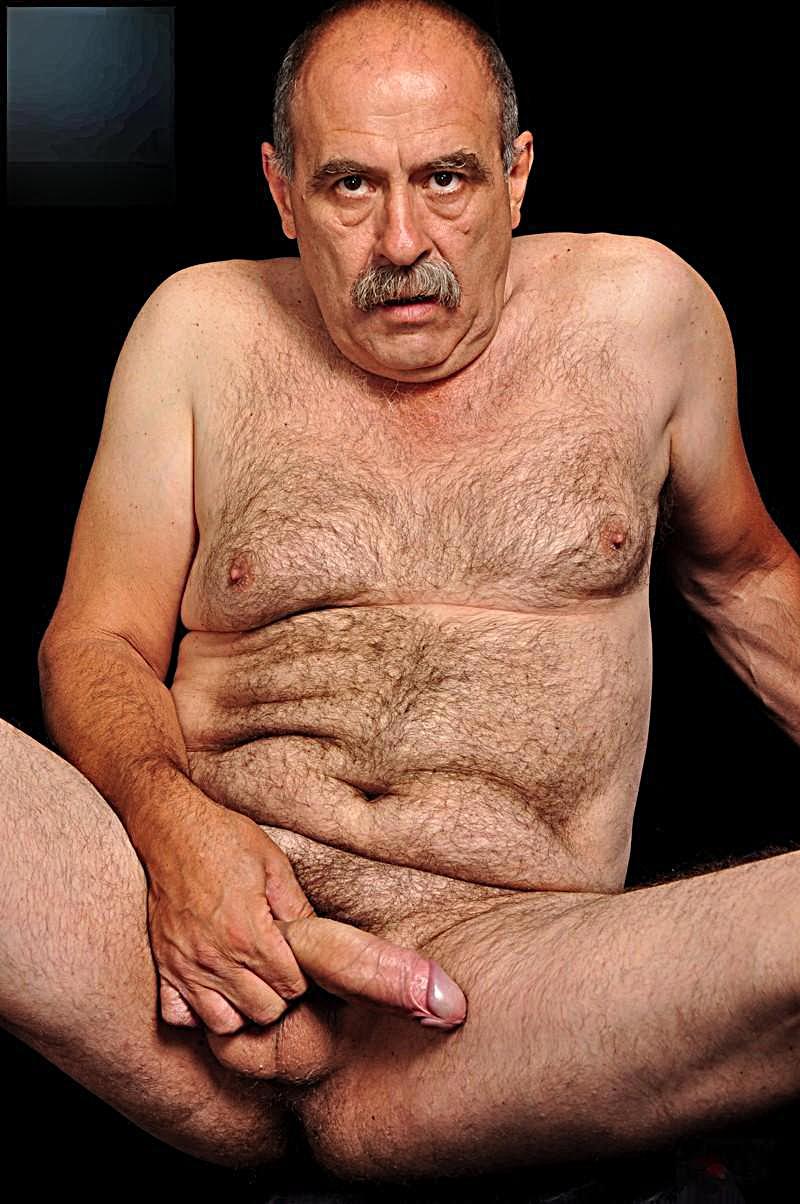 Homens gays nus maduros