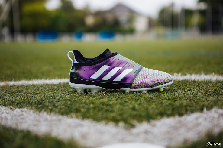 94c51030c The second World Cup-inspired Adidas Glitch soccer boot skins takes us back  to the 2010 World Cup and Messi s signature Adidas F50 Adizero colorway.