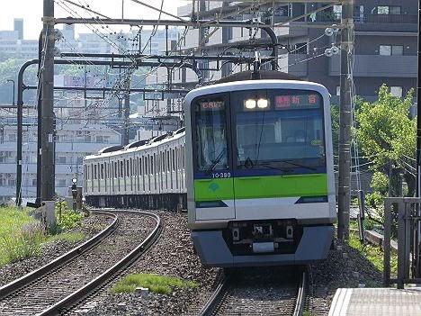 都営車両による「準特 新宿行き」代走!380F