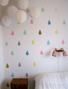 decorar las paredes infantiles