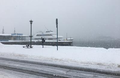 函館ベイエリア 停泊する船