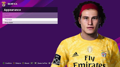 PES 2020 Faces Mile Svilar by Rachmad ABs