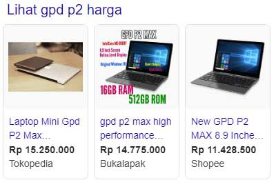 Harga GDP P2